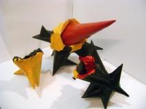 """Fragments Reconsidered,"" Mixed Media Sculpture, 2009"