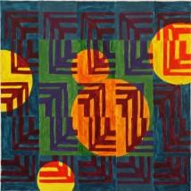 """""""Grid,"""" Acrylic, 2008"""